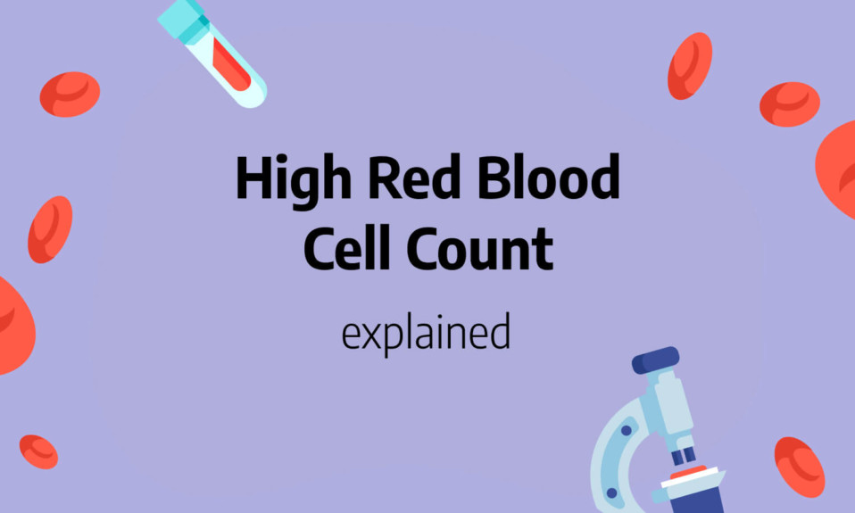 High red blood cell count